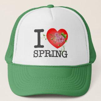 I Love Spring W/G Trucker Hat