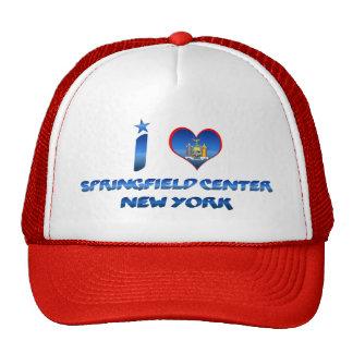 I love Springfield Center, New York Cap