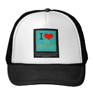 I Love Springfield Christian School Cap