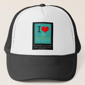 I Love Springfield Christian School Trucker Hat