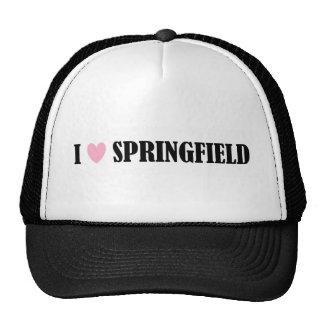 I LOVE SPRINGFIELD HAT