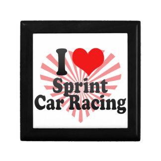 I love Sprint Car Racing Gift Box