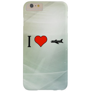 I Love Spy Plane Barely There iPhone 6 Plus Case