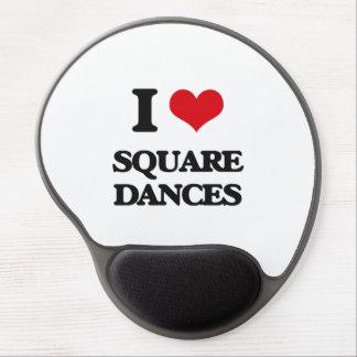 I love Square Dances Gel Mouse Pad