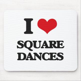 I love Square Dances Mouse Pad