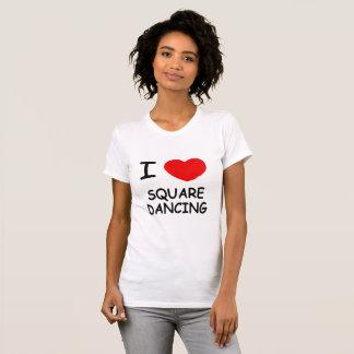 I Love Square Dancing T-Shirt