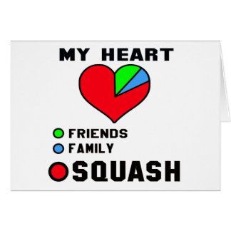 I love Squash. Greeting Card