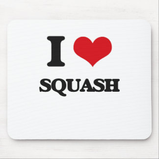 I Love Squash Mouse Mat
