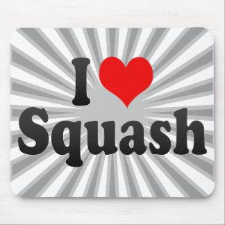 I love Squash Mouse Pad