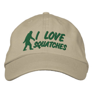 I love Squatches Embroidered Hat
