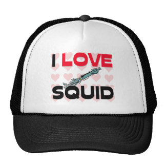 I Love Squid Cap