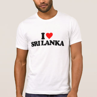 I LOVE SRI LANKA T-Shirt
