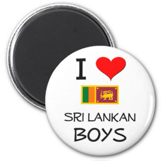 I Love Sri Lankan Boys Magnet