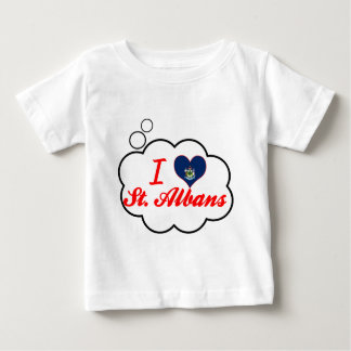 I Love St. Albans, Maine Tee Shirts
