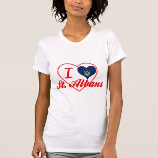 I Love St. Albans, Maine Tshirt