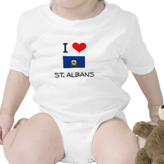 I Love St. Albans Vermont Tshirts
