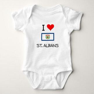 I Love St. Albans West Virginia Tshirt