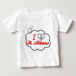 I Love St.Albans, West Virginia Tshirt
