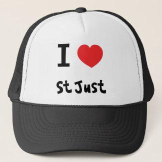 I love St Just Trucker Hat