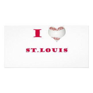 I Love St Louis Photo Greeting Card