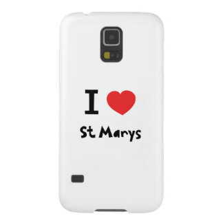 I love St Marys, Isles of Scilly Case For Galaxy S5