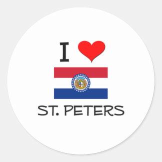 I Love St. Peters Missouri Sticker