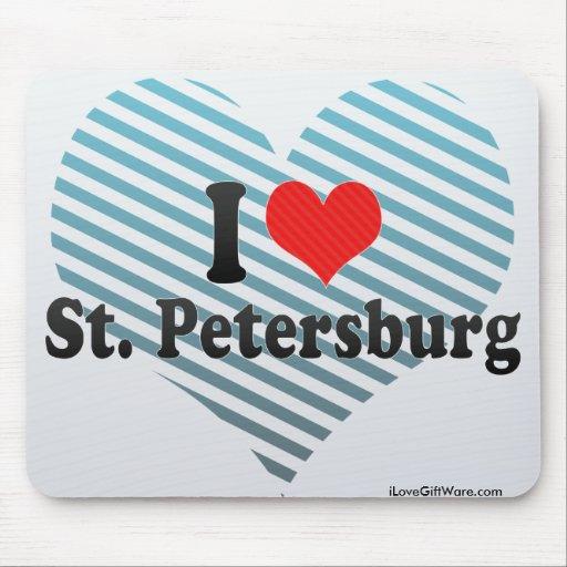 I Love St. Petersburg Mousepad