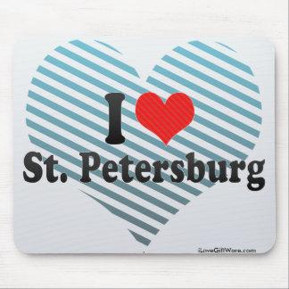 I Love St Petersburg Mousepad