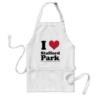 I LOVE Stafford Park Standard Apron