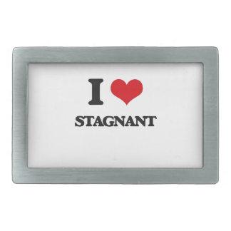 I love Stagnant Rectangular Belt Buckle