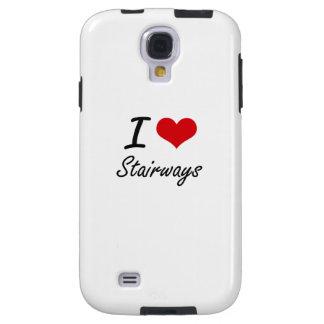 I love Stairways Galaxy S4 Case