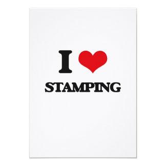 I Love Stamping Custom Invites
