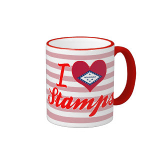 I Love Stamps, Arkansas Mugs