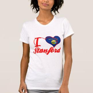 I Love Stanford, Montana Tee Shirts
