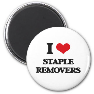 I love Staple Removers 2 Inch Round Magnet