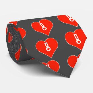 I Love Star Tie