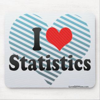 I Love Statistics Mousepad