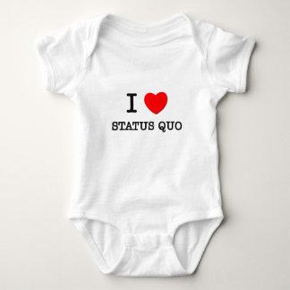 I Love Status Quo Baby Bodysuit