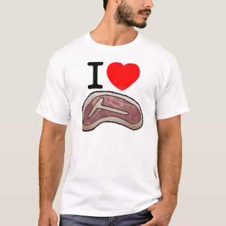 I LOVE STEAK!!!! T-Shirt