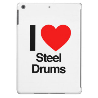 i love steel drums iPad air cover
