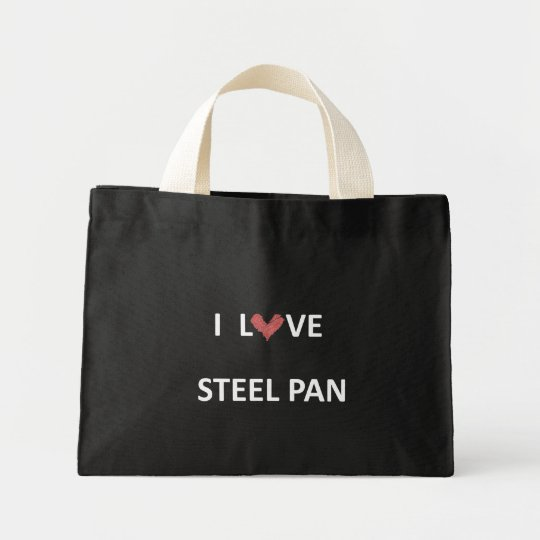 I Love Steel Pan Tote