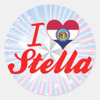 I Love Stella, Missouri Stickers