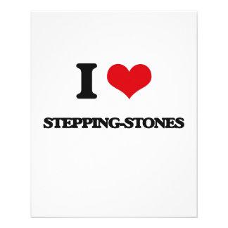 I love Stepping-Stones Flyer Design