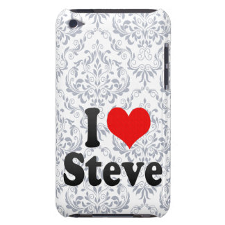 I love Steve Barely There iPod Covers