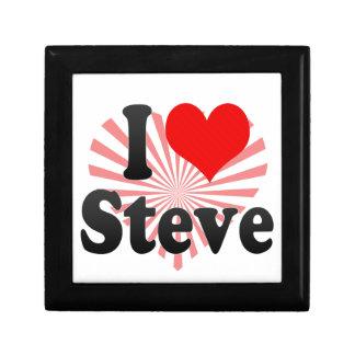 I love Steve Jewelry Box