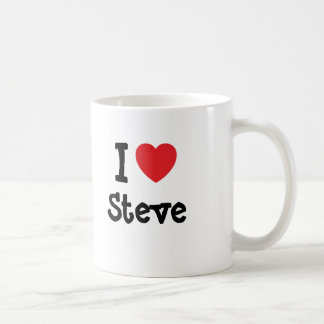 I love Steve heart custom personalized Coffee Mug
