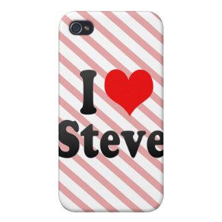 I love Steve iPhone 4 Cover