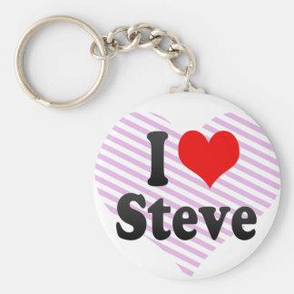 I love Steve Key Chains