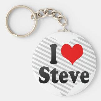 I love Steve Keychains