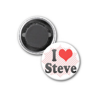 I love Steve Magnet